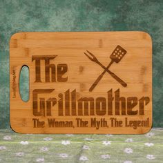 Godfather Movie, Mothersday Gift, Pet Loss Gifts, First Anniversary Gifts, Photo Engraving, Cnc Projects, Photo Ornaments, Bamboo Cutting Board, Bbq