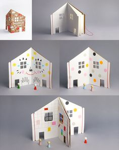 Rock and Pebble Dolls House Book