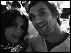 Stana and her brother