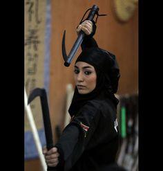 Iran's Female Ninjas Are Suing Reuters