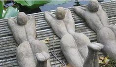 Afbeeldingsresultaat voor tuinbeelden maken van klei