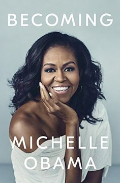 """""""Becoming"""" ~ Michelle Obama opens up about her remarkable journey, from her humble beginnings in Chicago to the day she and Barack Obama left the White House. Obama exudes optimism and hope, and her story is what that will go down in history. Barack Obama, Obama President, Karaoke, New Books, Good Books, Fall Books, Amazing Books, Summer Books, Black Girls"""