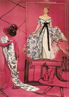 Horst P Horst,Vogue 1953