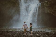 Tegenungan Waterfall - Apel Photography for Bali Prewedding photoshoot