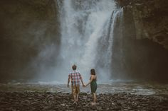Tegenungan Waterfall - Apel Photography for Bali Prewedding photoshoot