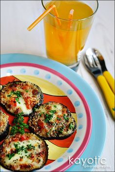 Eggplant recipe.