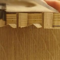 Here's an awesome dovetail tip I learned from the brilliant Will Neptune. I usually chop to the baseline, but on big jobs, I've been known to bust out a trim router equipped with a bearing-guided bit. Cleans it up in a jiffy.