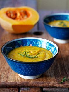 #Vegan Butternut Dill Soup via @Shulie Packer Madnick