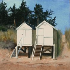 Wells Next the Sea contemporary British Paintings. View all Sylvia ANTONSEN art and British artwork at Red Rag art gallery. Wells Next The Sea, Norfolk, Outdoor Gear, Art Gallery, Shed, British, England, Wellness, Outdoor Structures