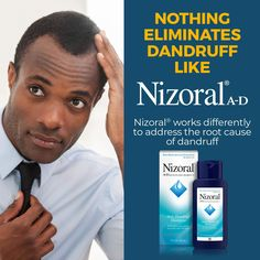 Fight dandruff outbreaks with Nizoral A-D Anti-Dandruff Shampoo. This powerful dandruff relief shamp Dandruff Control, Anti Dandruff Shampoo, Itchy Flaky Scalp, Cosmetics News, Natural Protein, Healthy Scalp, Gentleness