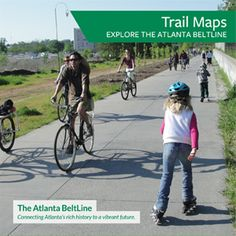 The BeltLine Eastside Trail Runs From Old Fourth Ward Up To Piedmont Park Check Out Their Maps For Routes And Access Points
