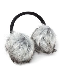 Keep warm with these stylish earmuffs! They feature super soft faux-fur trim and a flexible headband. A perfect winter accessory!