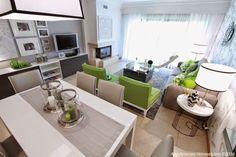 Joana: sala fresh green