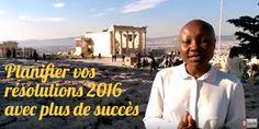 Planifier vos résolutions 2016 avec plus de succès