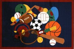 LA Rug Sports America Rug 19x29 -- Continue to the product at the image link.Note:It is affiliate link to Amazon.