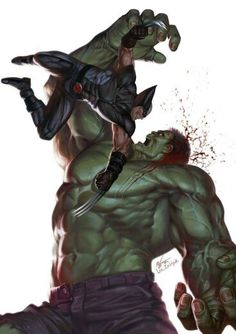 Wolverine vs the Hulk •In-Hyuk Lee