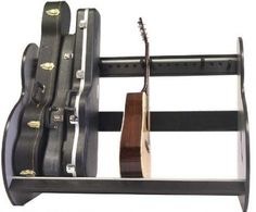 Guitar Rack -- can keep hard cases too