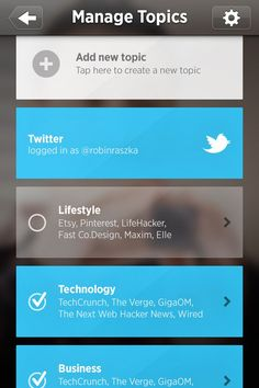 The Simple Yet Complicated Mobile UI List Design – 43 Examples
