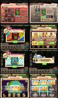Interfaces & Menus ♠ Monstroland