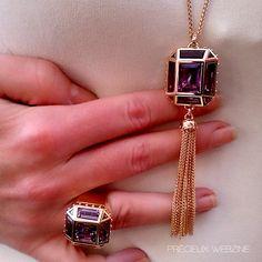 Bague et sautoir Emprise, collection Emprise, Louis Vuitton #louisvuitton #bague #ring #emprise