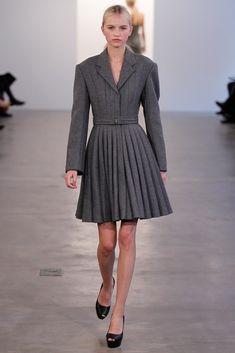 Calvin Klein Collection Pre-Fall 2012 Fashion Show - Anabela Belikova