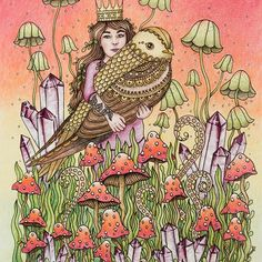 Hotovo #dagdrömmar #hannakarlzon #coloring #coloringbook #adultcoloringbook…