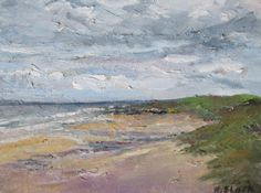 """""""Sunshine and Showers, Fanore"""" 12 x 10 inches www.niamhslack.com"""