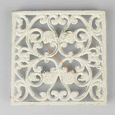 Litinová podložka čtverec