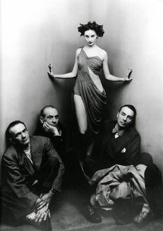 The Ballet Society, Corner Piece Irving Penn