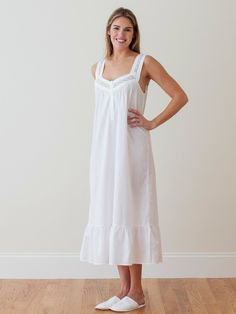 2b7f1b6826c9 289 Best Nights in White Cotton images in 2019 | Cotton nighties ...