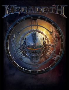 Merch piece for Megadeth. Metal Band Logos, Metal Bands, Rock Bands, Power Metal, Thrash Metal, Vic Rattlehead, Greatest Album Covers, Hardcore Music, El Rock And Roll