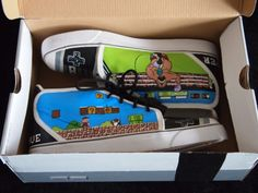 Nes shoes by Michael Kohl