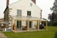 Green Oak verandas and casement windows