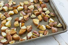 Roasted Rosemary Potatoes + 4 Other Three Ingredient Sides