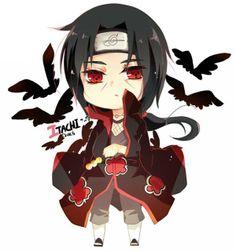 Itachi Uchiha chibi. ♡♥♡ He's so cute I'm gonna die!!