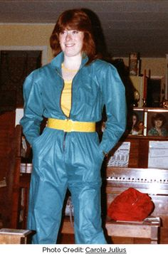 Puffed sleeved jumpsuit (photo credit: mirage1210) >very 80s with puffed sleeves etc >lots of other good photos re 80s sleeves/puffs on this site