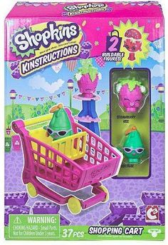 Now you can build the world of the cutest, most-collectible characters with Shopkins Kinstructions Mini Packs! Each pack comes with a buildable set and 2 buildable figures!
