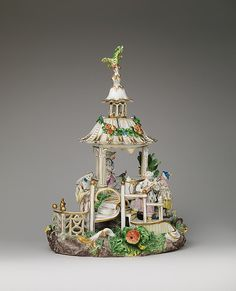 Chinese Pavilion   Frankenthal Porcelain Manufactory Modeler: Karl Gottlieb von Lück (active 1760–75) Date: ca. 1770