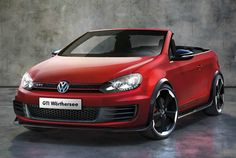 VW Golf GTI Cabriolet first official pictures. I'm actually quite impressed! What do you think of the new VW?