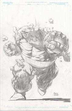 Juggernaut Commision - David Finch, in PerrynFlynn's David Finch Comic Art Gallery Room - 423635