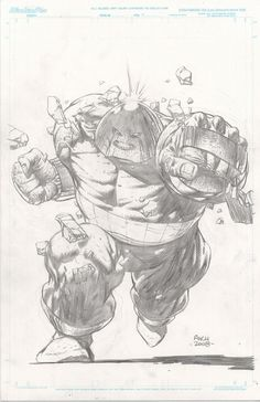 Juggernaut Commision - David Finch, in Perryn Flynn's David Finch Comic Art Gallery Room - 423635