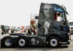 Phil Collins Truck von der Seite