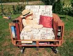 Palette garden chair made by mona_zet