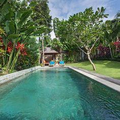 private pool villa with nice tropical garden, Close to Beach, Seminyak - North Kuta Kuta, Tropical Garden, Vacation Villas, Private Pool, Swimming Pools, Nice, Beach, Outdoor Decor, Products