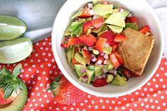 Strawberry guacamole :p