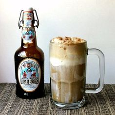Black Cow -- Sugar-free root beer, dark rum, ice cream (or an ounce or two of heavy cream).