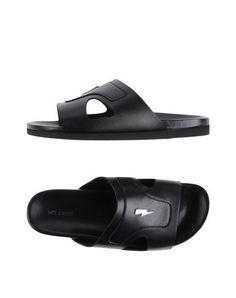 NEIL BARRETT Men's Sandals Black 10 US