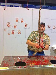 2014 Rattlesnake Roundup in Sweetwater Texas.