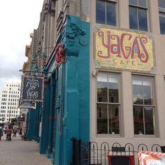 Yagas .. A cool restaurant in Galveston, TX