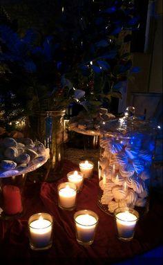 Christmas Wedding Decorations, Tea Lights, Bouquet, Candles, Weddings, Table Decorations, Design, Home Decor, Decoration Home